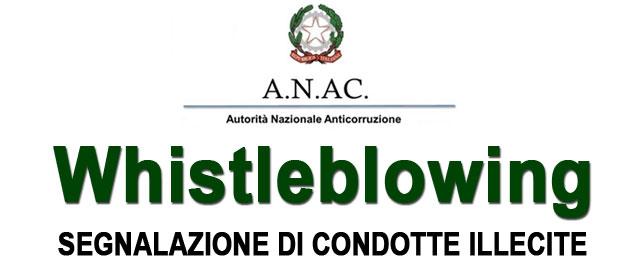 Segnalazione Condotte Illecite - Whistleblowing
