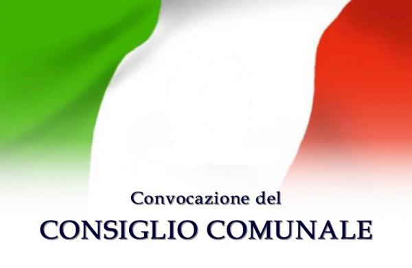Convocazione del Consiglio Comunale in sessione straordianria di 1' convocazione per giovedi' 23