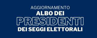 Avviso: Aggiornamento albo delle persone idonee all'Ufficio di presidente di seggio elettorale